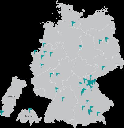 Kunden-Landkarte